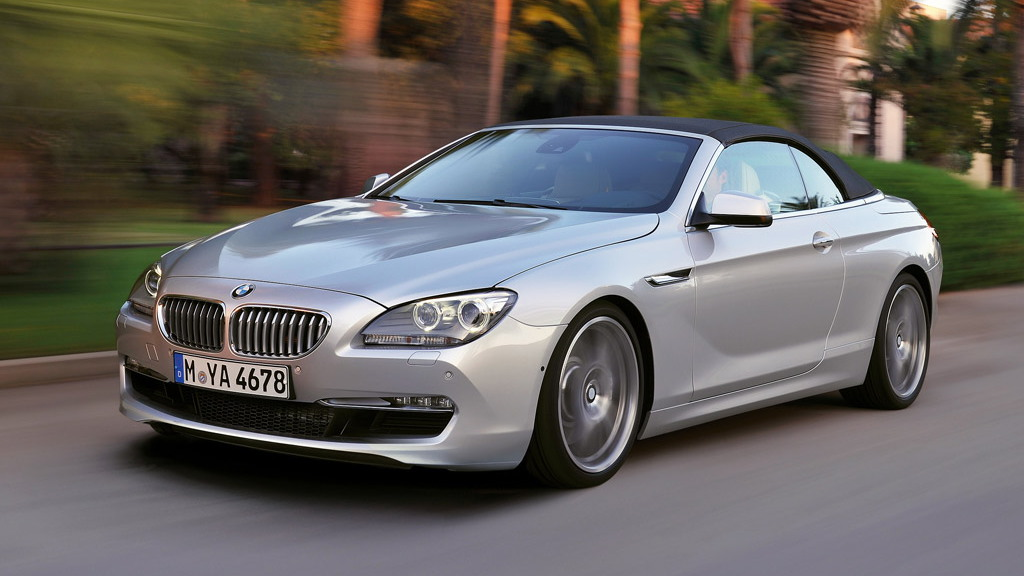 2012 BMW 6-Series Convertible