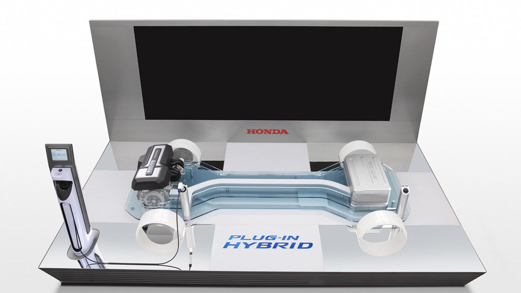 Honda plug-in hybrid platform