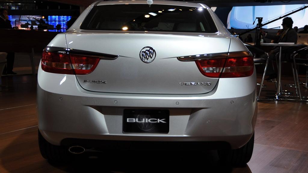 2012 Buick Verano live photos. Photo by Joe Nuxoll.