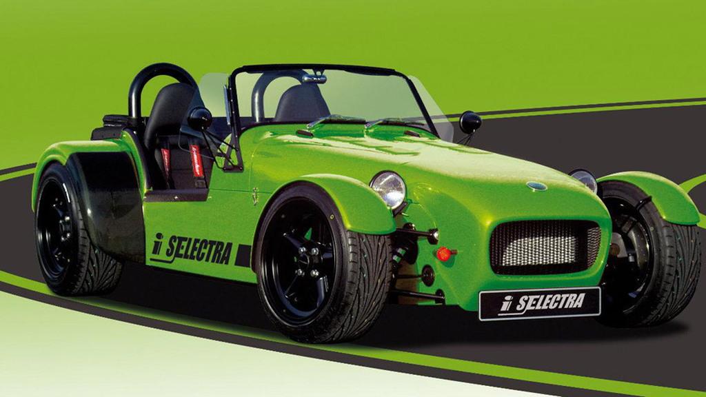 2011 Irmscher 7 Selectra electric roadster concept