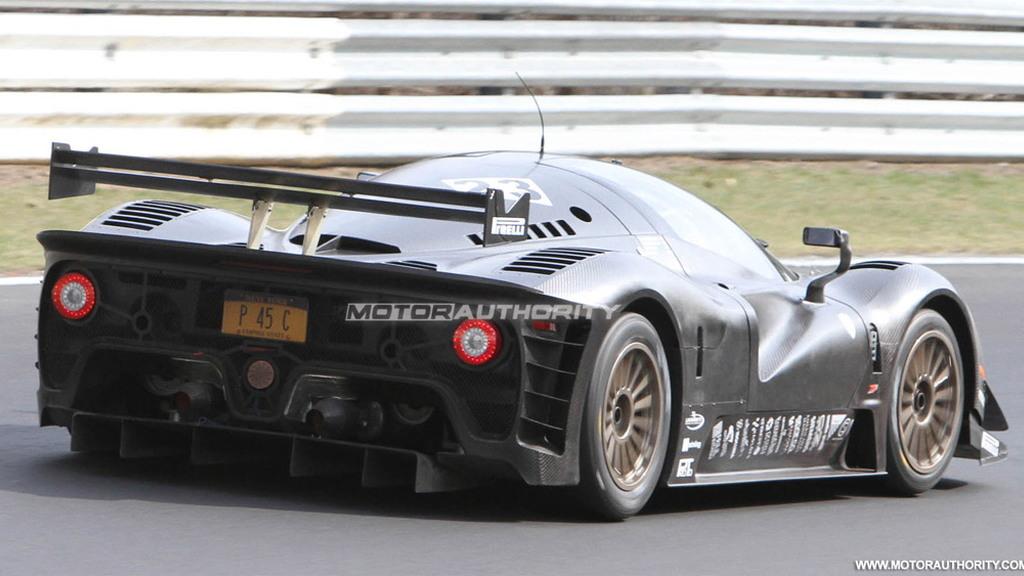 Glickenhaus Ferrari P4/5 Competizione spy shots