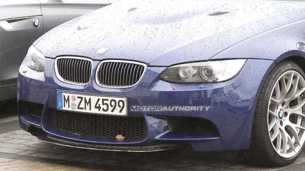 Lightweight BMW M3 Sedan spy shots