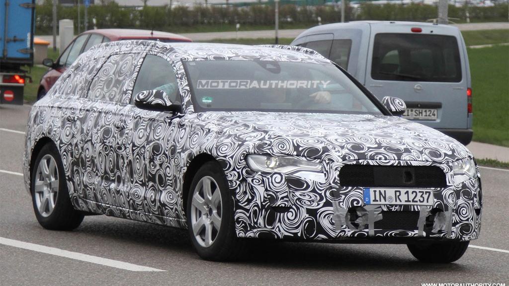 2012 Audi A6 Avant spy shots