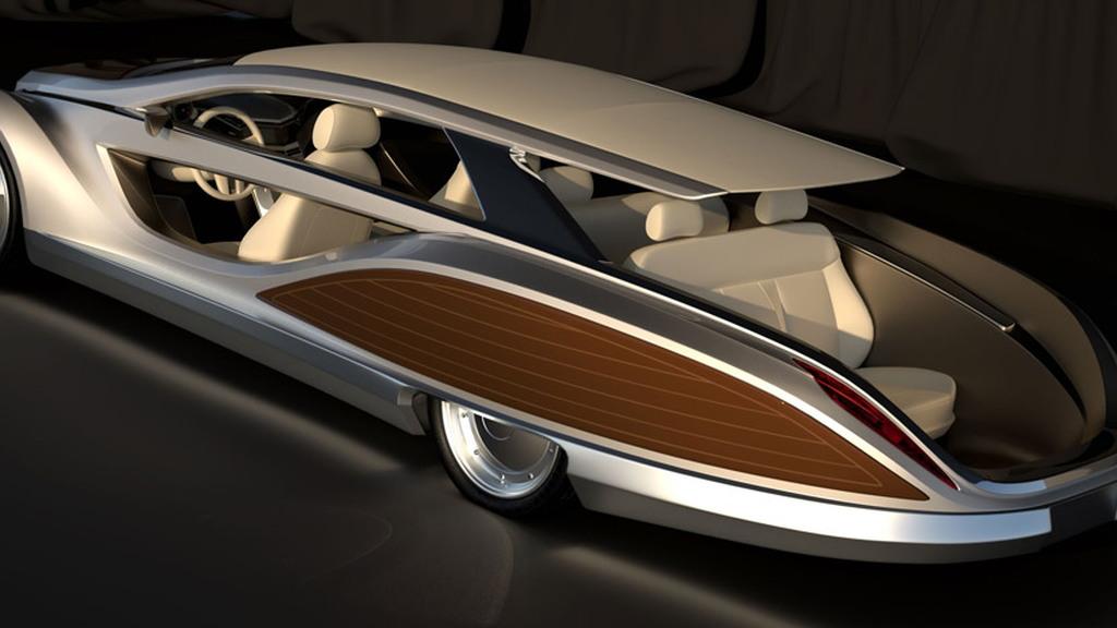 Gray Design's Strand Craft Limousine Beach Cruiser concept