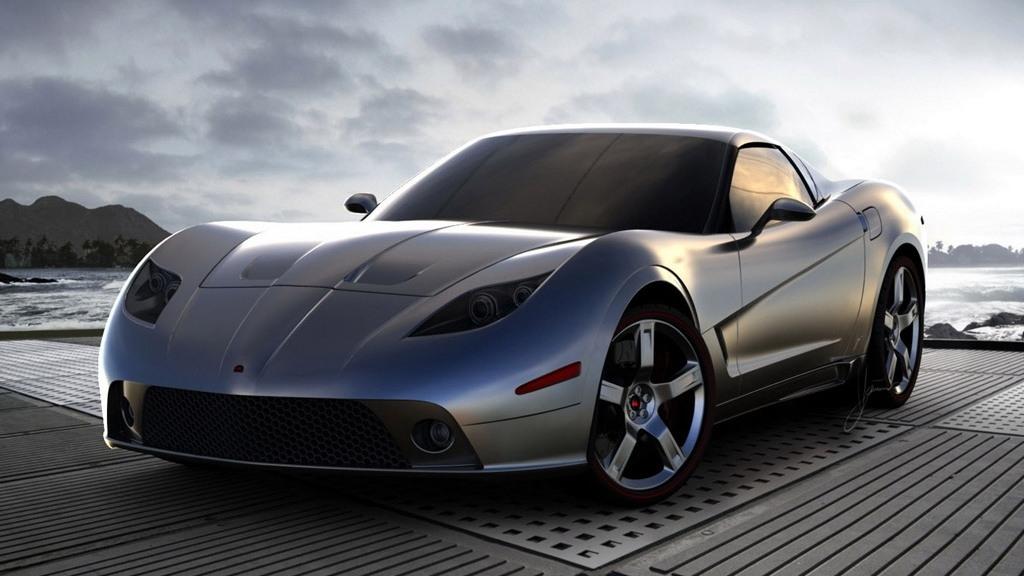 Ugur Sahin Design Soleil Anandi coachbuilt Corvette