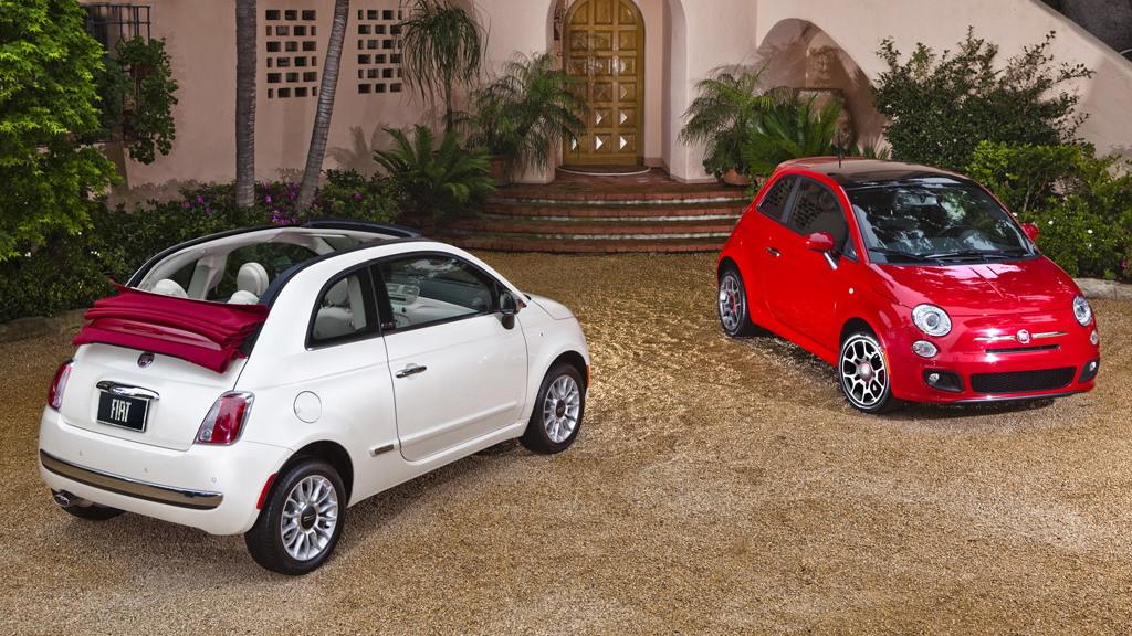 U.S.-spec 2012 Fiat 500c