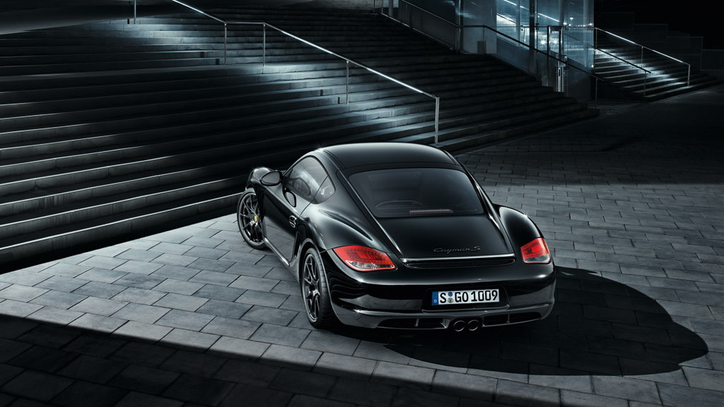2011 Porsche Cayman S Black Edition