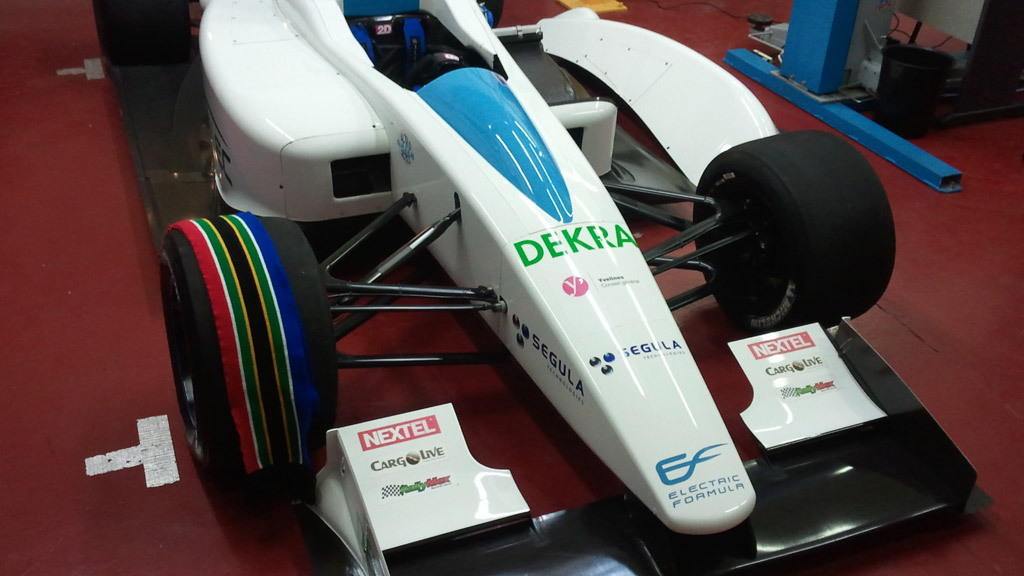 Formulec EF01 electric race car
