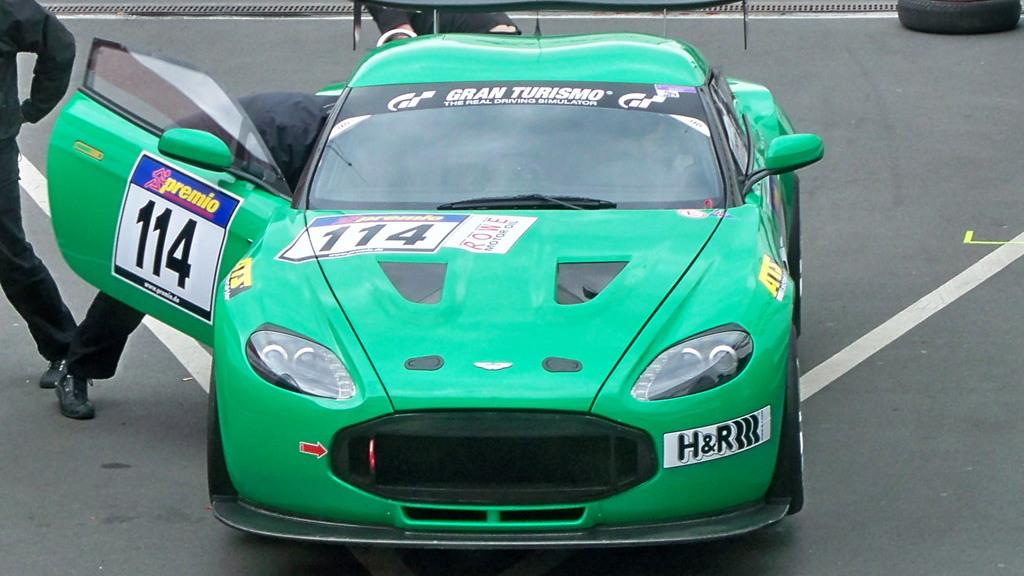 Aston Martin V12 Zagato race car - Copyright High Gear Media