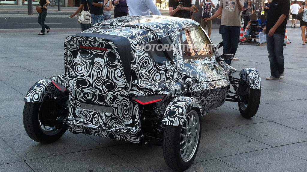 Audi E1 e-tron Concept spy shots