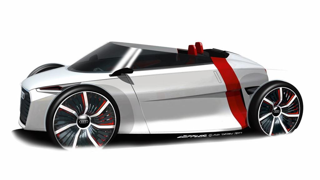 2011 Audi Urban Spyder Concept