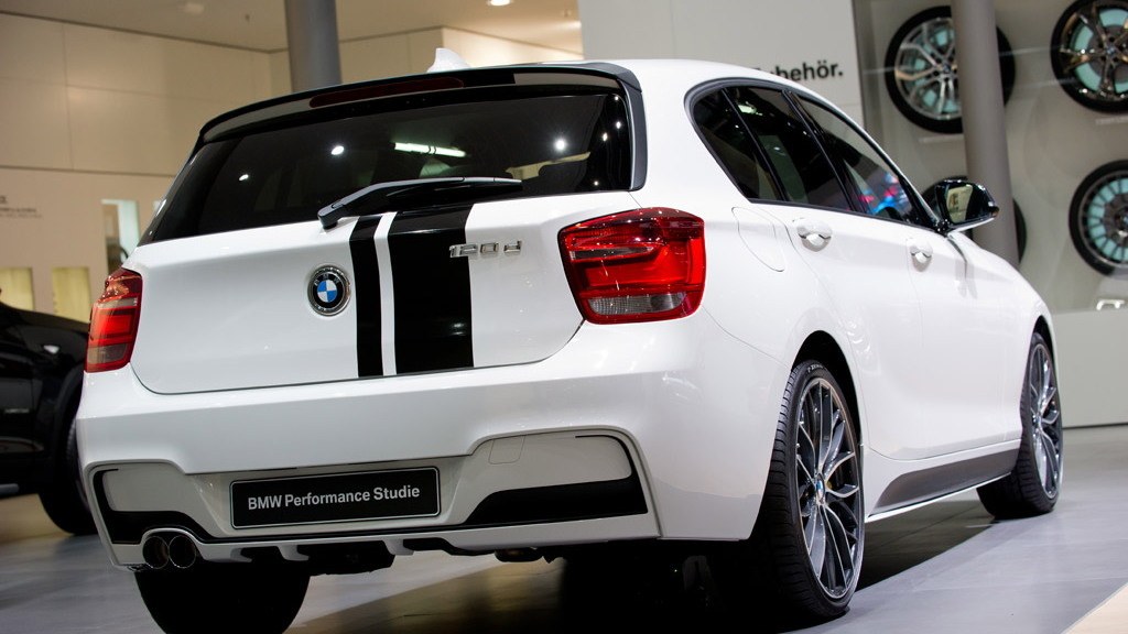 2012 BMW 1-Series Hatchback BMW Performance Concept