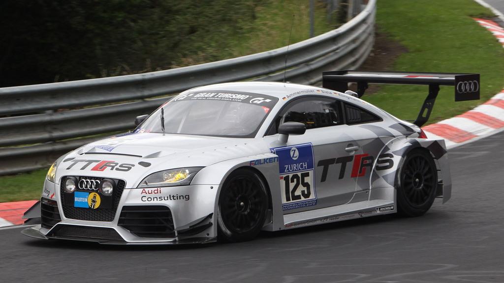 2012 Audi TT RS race car