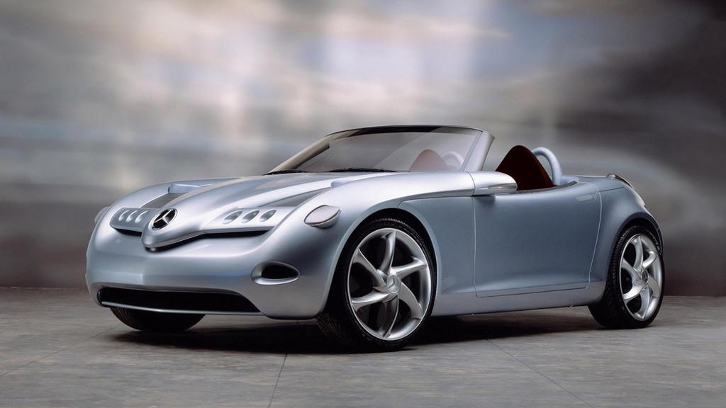 2000 Mercedes-Benz Vision SLA Concept