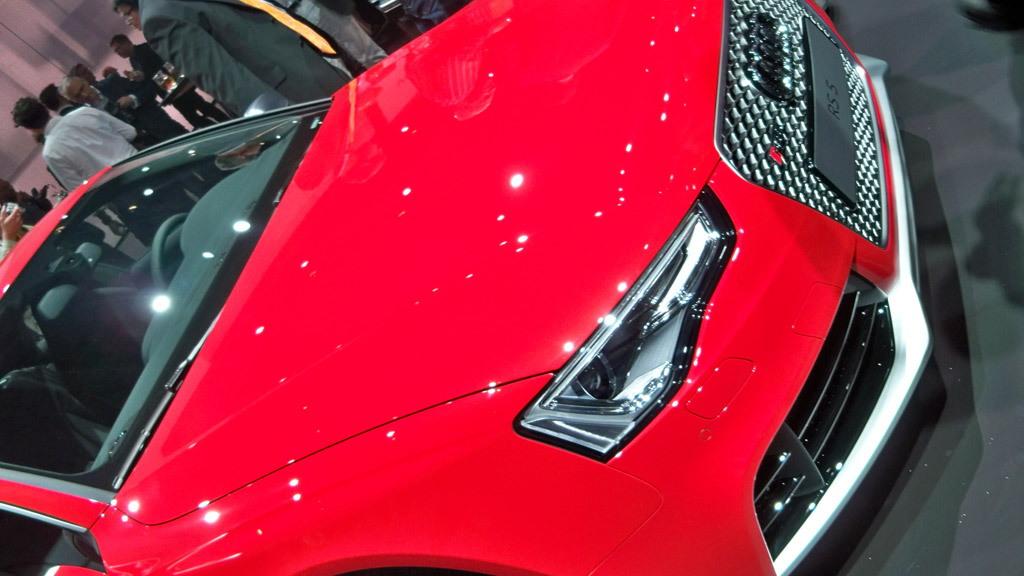 2012 Audi RS5 live photos