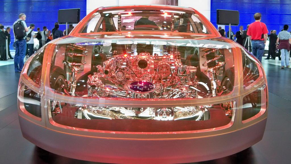 Subaru BRZ Prologue - BOXER Sports Car Architecture II live photos