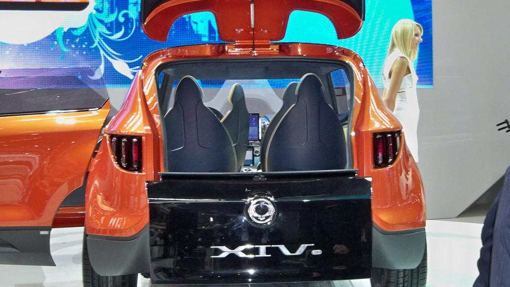 2011 SsangYong XIV-1 Concept live photos