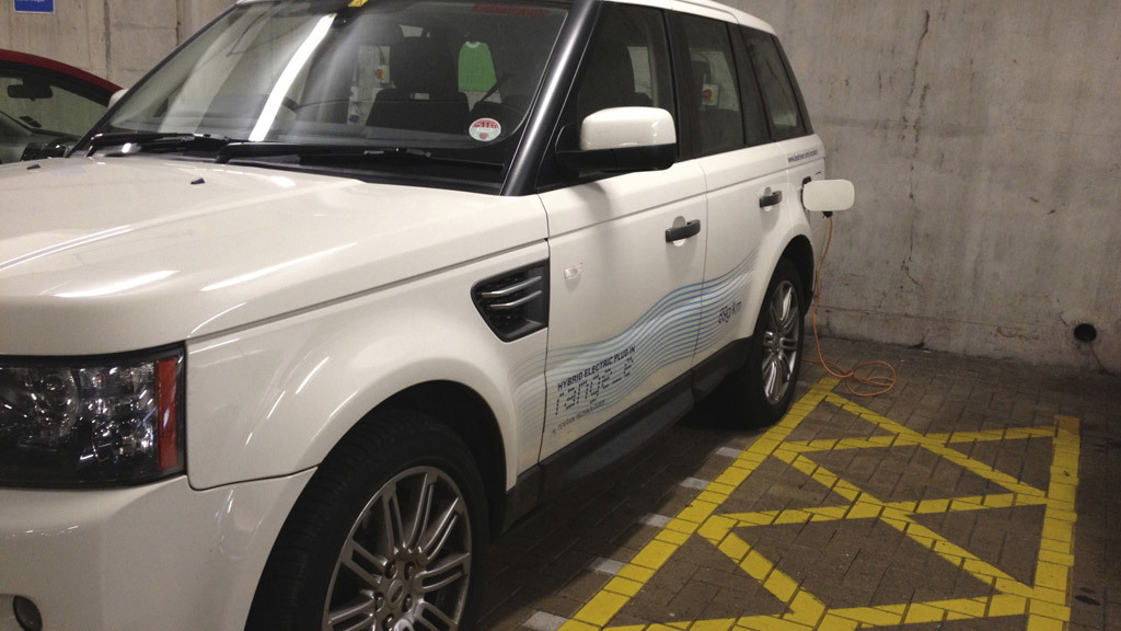 Range Rover Sport Electric Prototype