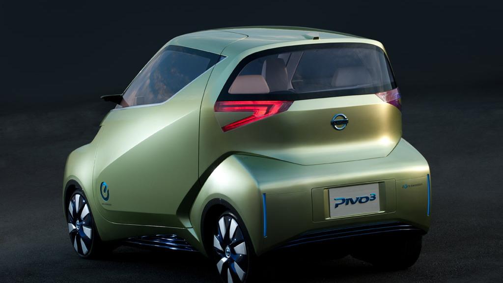 2011 Nissan Pivo 3 electric city car concept