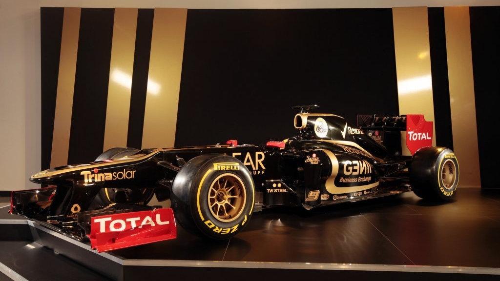 Lotus E20 2012 Formula 1 race car