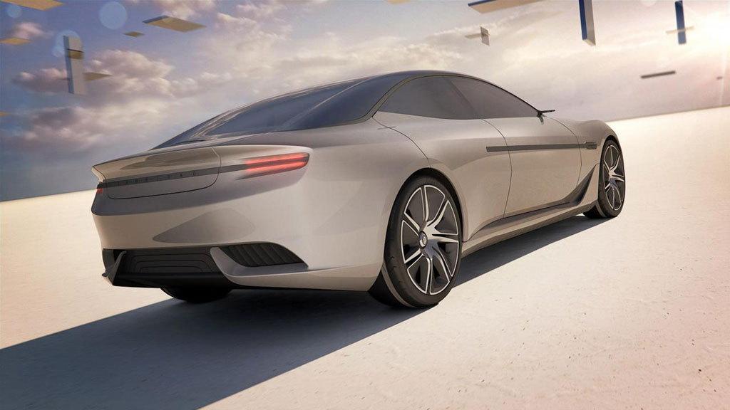 Pininfarina's Cambiano concept.