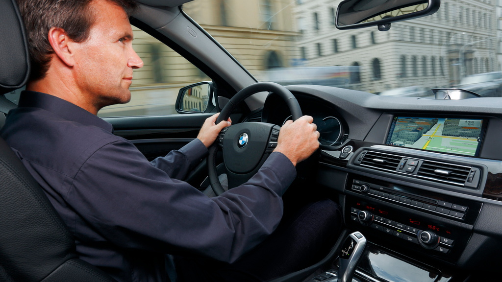 BMW's updated 2012 ConnectedDrive infotainment system