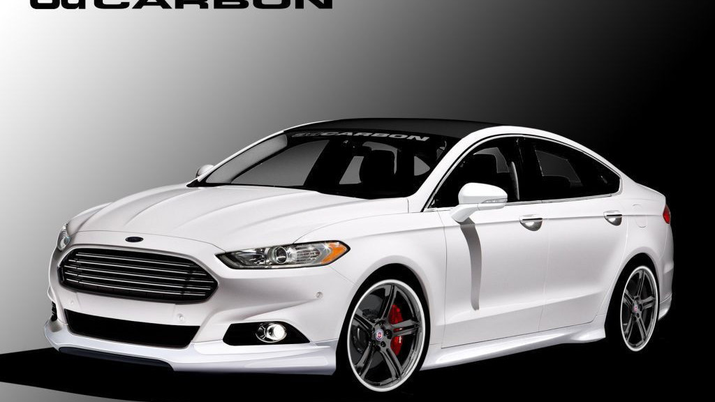 2013 Ford Fusion, built by 3dCarbon - Air Design for SEMA 2012