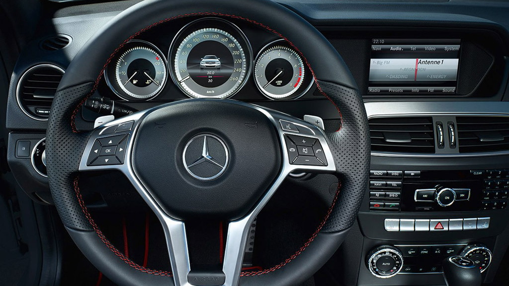 First Look At The 2013 Mercedes Benz C Class New Amg Sports Pack