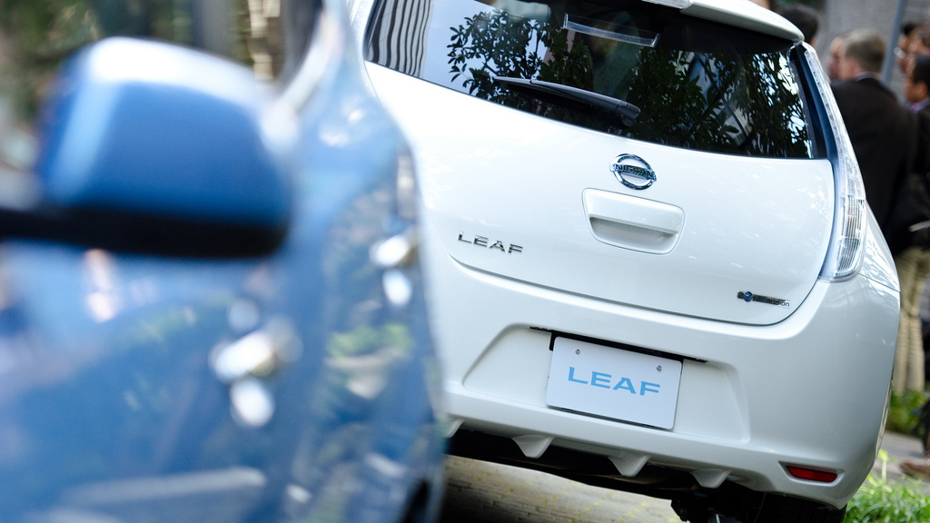 2013 Nissan Leaf (Japanese trim)