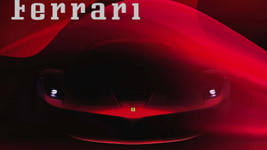 Teaser for Ferrari Enzo replacement (F70)