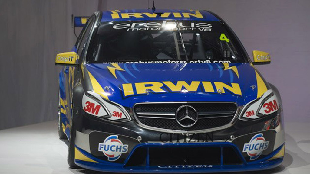 2013 Mercedes-Benz E63 AMG V8 Supercars race car - Image: Erebus Motorsport