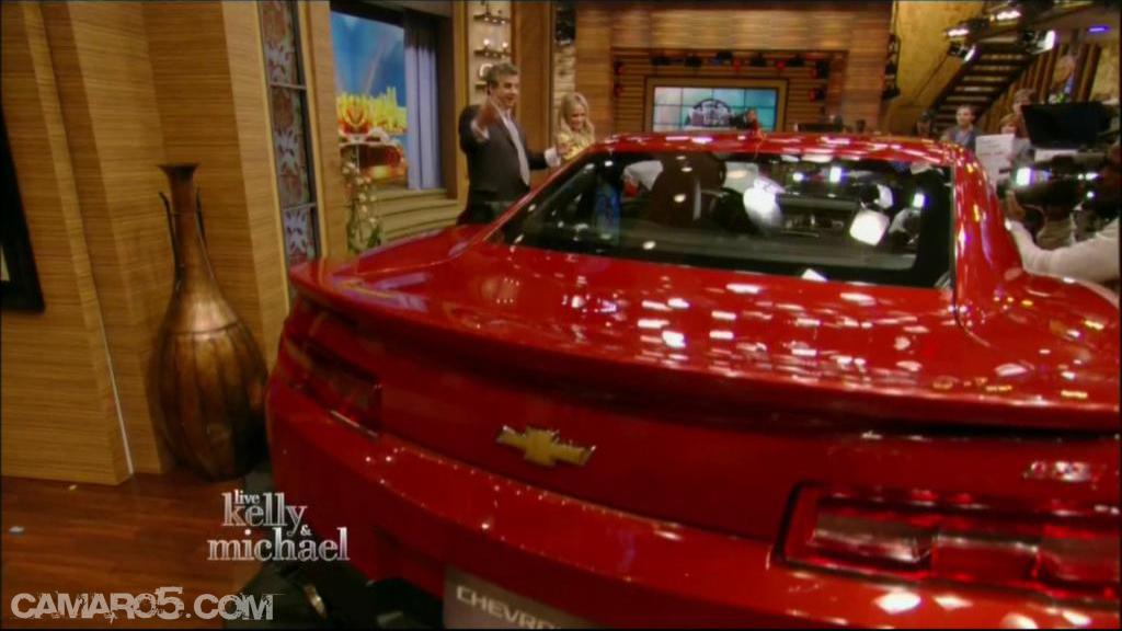 2014 Chevrolet Camaro leaked - Image: Camaro5