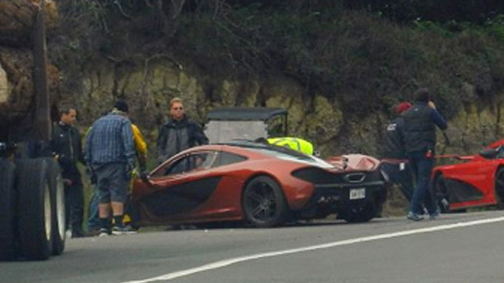 McLaren P1, Other Exotics Appear On Set For Upcoming Need