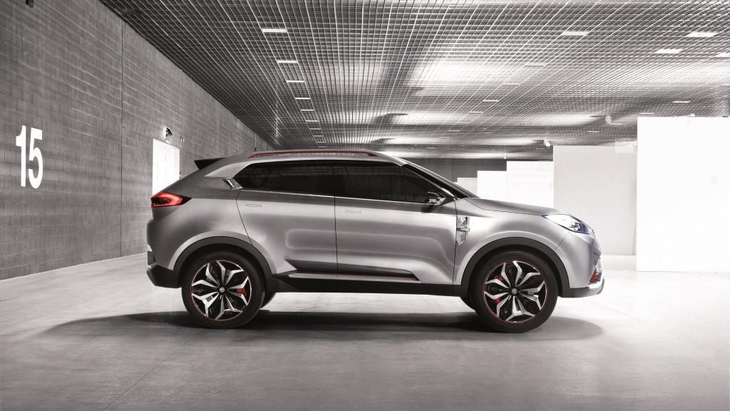 MG CS Crossover Concept, 2013 Shanghai Auto Show