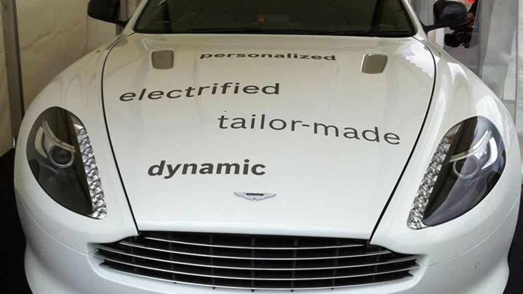 Bosch's Aston Martin DB9 plug-in hybrid prototype