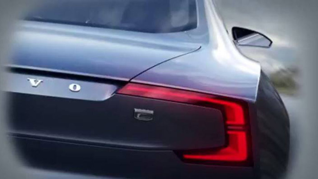 Teaser for new Volvo concept