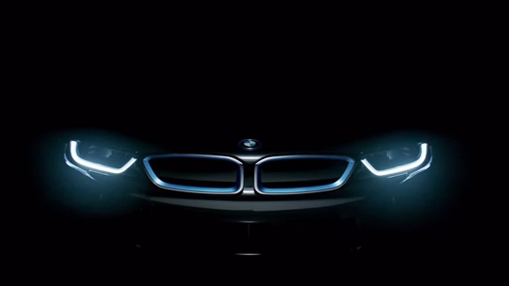 Teaser for 2015 BMW i8
