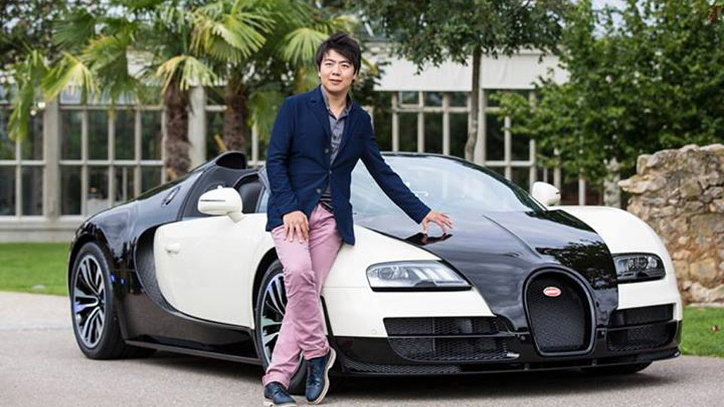 Bugatti Veyron Grand Sport Vitesse celebrates the music of Lang Lang