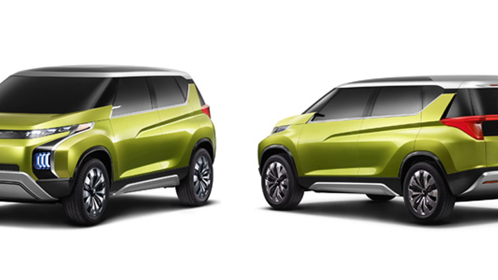 Mitsubishi Concept AR, 2013 Tokyo Motor Show