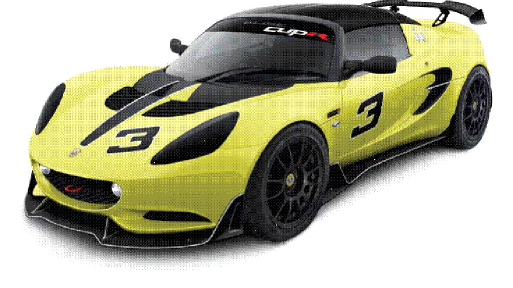 2014 Lotus Elise S Cup R race car