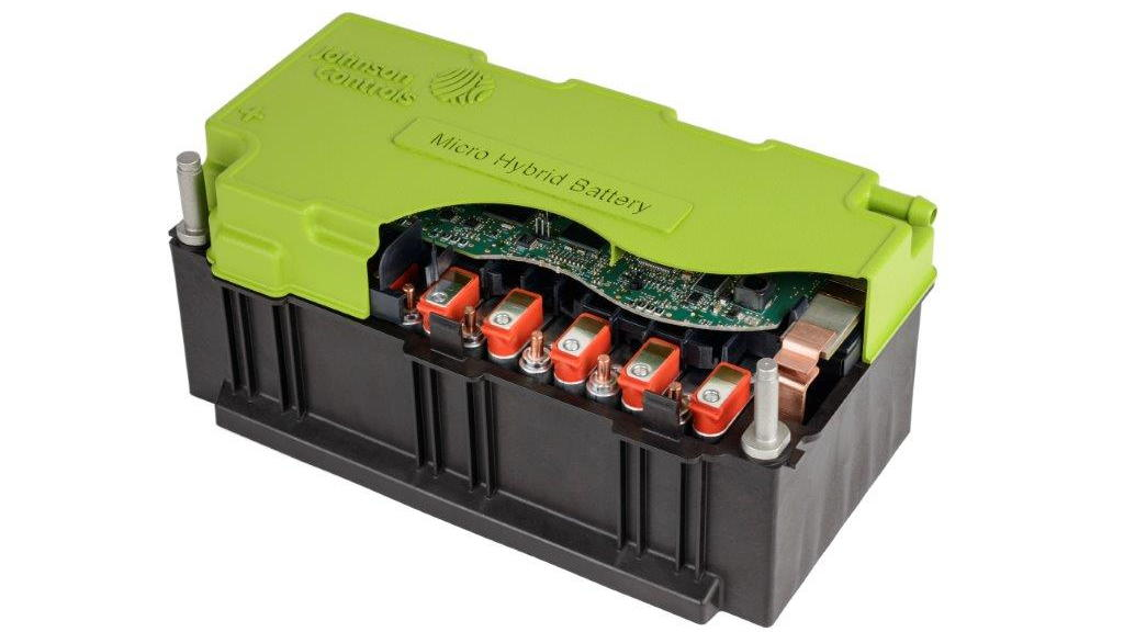 Johnson Controls 48-volt lithium-ion micro-hybrid battery