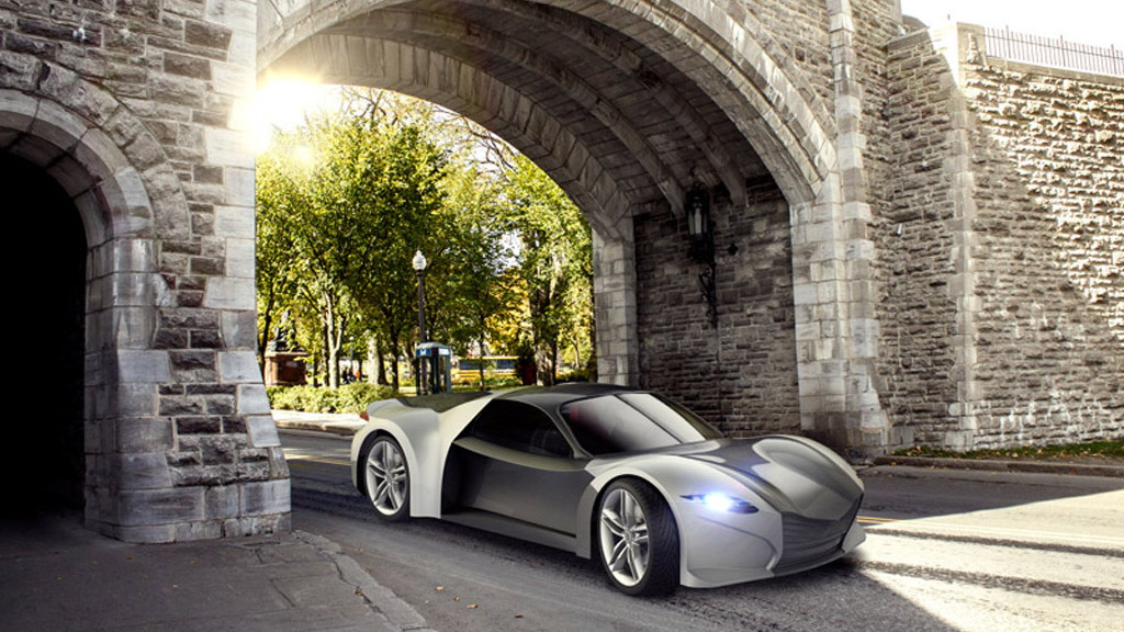 Dubuc Super Light Car Tomahawk kit car