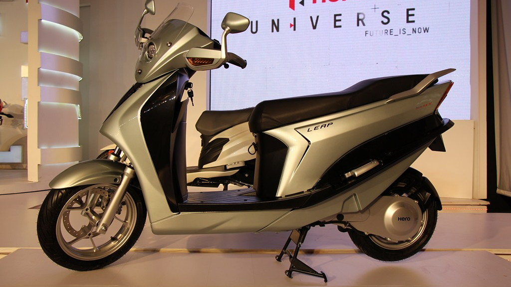 Hero Leap hybrid scooter (Image: MotorBeam)