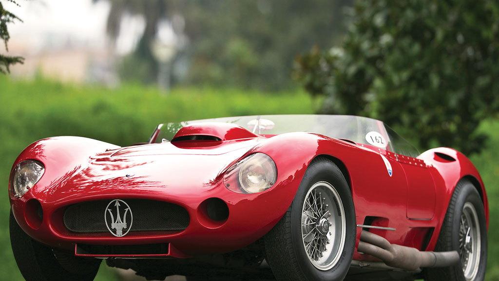 1956 Maserati 450S Prototype by Fantuzzi (Image: RM Auctions)