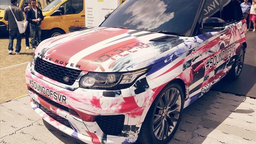 2015 Land Rover Range Rover Sport SVR prototype, 2014 Goodwood Festival of Speed