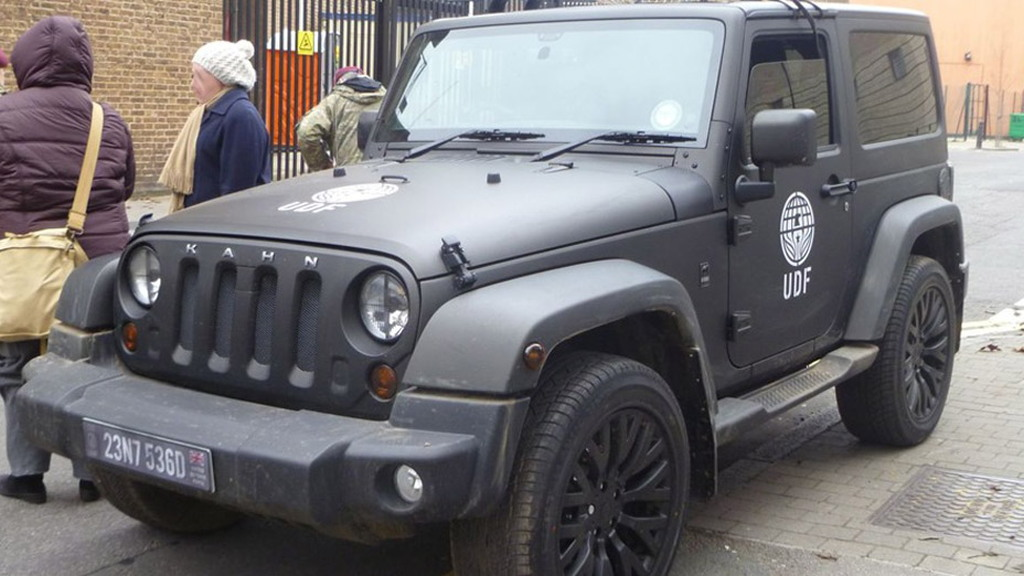 Jeep Wrangler by A. Kahn Design on the set of 'Edge of Tomorrow'