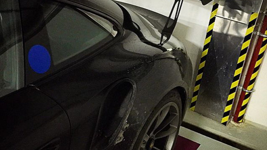 2015 Porsche 911 GT3 RS leaked - Image via johan9ff