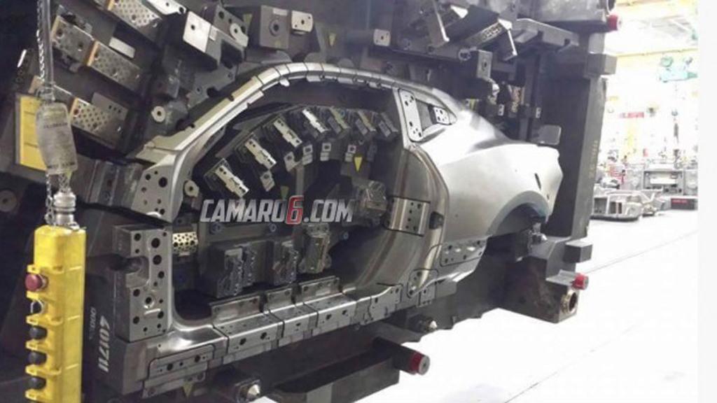 2016 Chevrolet Camaro body die - Image via Camaro6