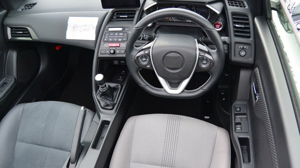 2015 Honda S660 spy shots - Image via Response