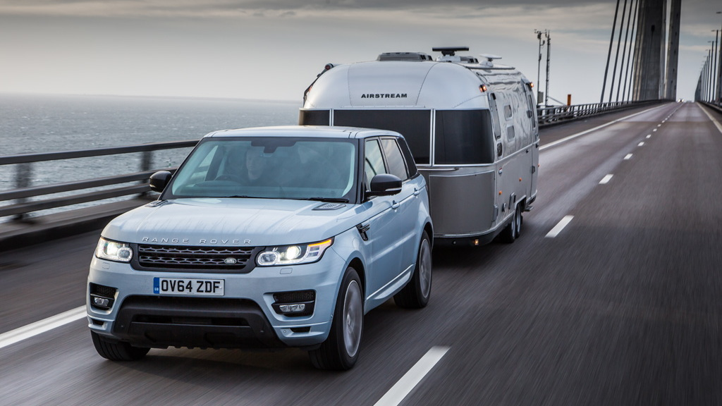2015 Range Rover Sport Hybrid Arctic Circle Airstream adventure